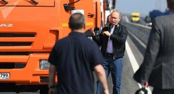 Не протолкнуться: что произошло после открытия Керченского моста, неожиданные фото