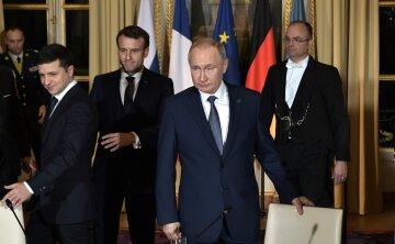 Владимир Путин, Владимир Зеленский, Париж