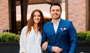 Григорий решетник с женой, Кристина Решетник