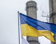 приватизация, Украина, флаг