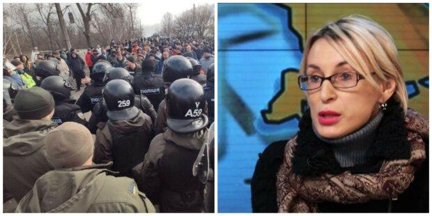 """""""Слуга"""" Богуцька втрутилася в скандал з евакуйованими українцями: """"Ви звірі!"""""""