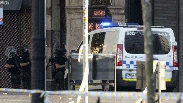Теракт Барселона Испания полиция