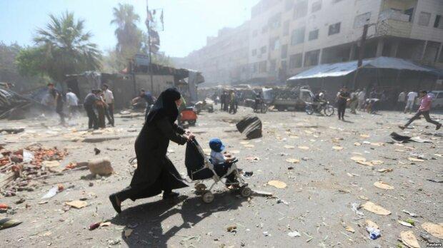 Сирия-город Дума