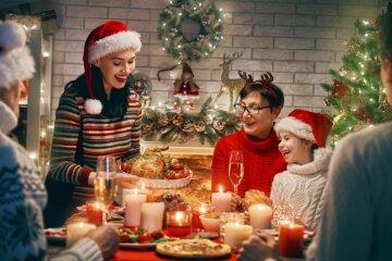 Привітання з Новим роком в листівках