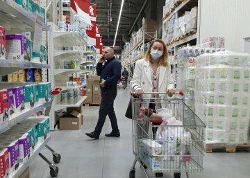 супермаркет, карантин