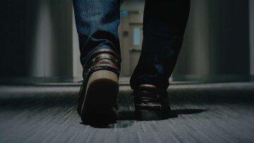 мужчина, ноги, туфли, богатство