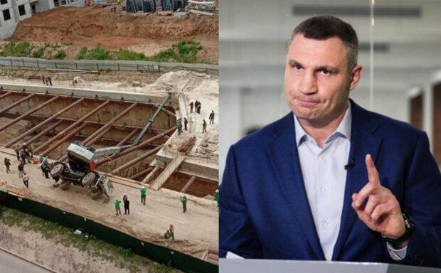 Виталий Кличко, строительство метро на Виноградарь