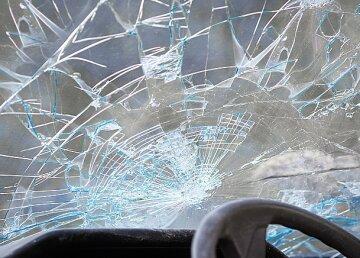 ДТП, авария, стекло