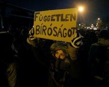 протест Венгрия
