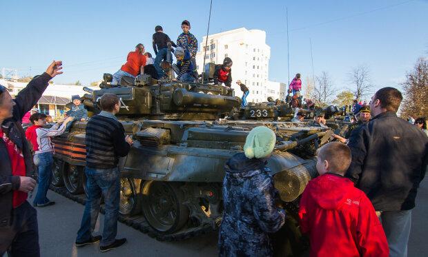 В дитячому садку Криму помітили кулемет (фото)