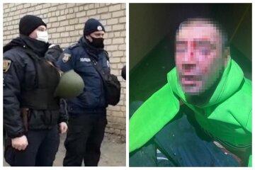 """Неадекват схватился за меч и устроил дебош в Одессе, кадры: """"крушил всё на своем пути"""""""