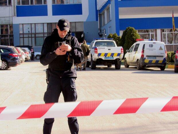 минирование, полиция
