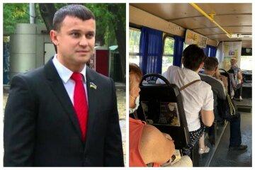 """""""За партию можете не голосовать, за меня обязательно"""": соратник Труханова подкупает людей прямо в маршрутке, видео"""