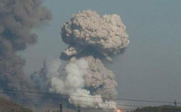 Калиновка взрыв