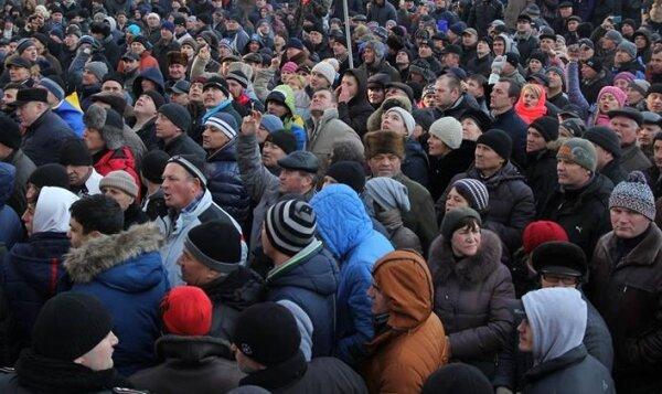 Возле Верховной Рады пикет: произошла потасовка (фото, видео)