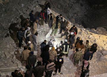 Нове відео смертоносних обстрілів мечеті в Сирії