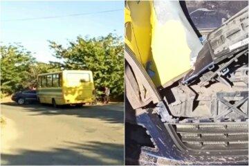Мер українського міста врізався в пасажирський автобус: перші кадри і подробиці аварії
