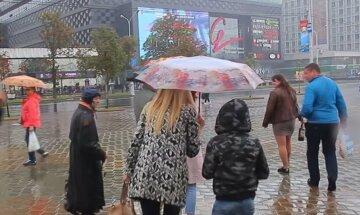 дождь, весенняя погода