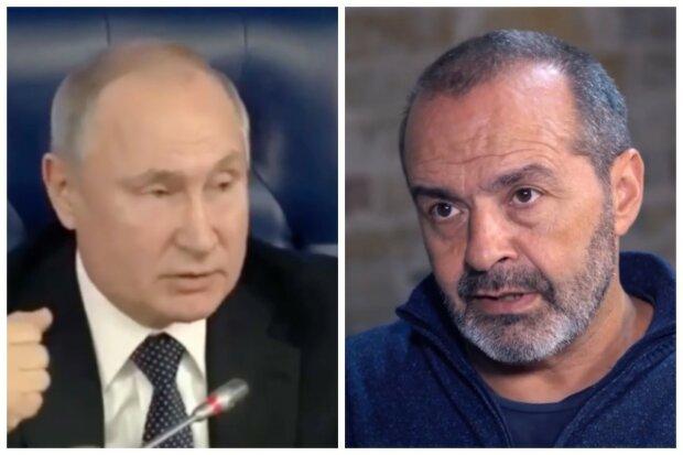 """Шендерович висміяв Путіна за непомірні амбіції: """"Ходить між струйками"""""""