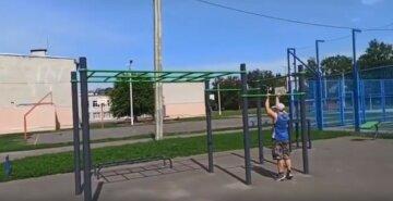 У Харкові вандали обнесли спортивний майданчик, відео: зазіхнули на млинці