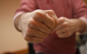 удар, драка, кулак, самооборона