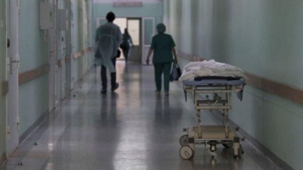 лікарня, каталка, хвороба, лікарі