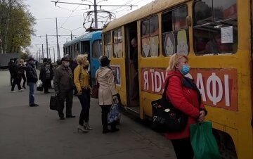 Харків, весна, вулиця, карантин, трамвай