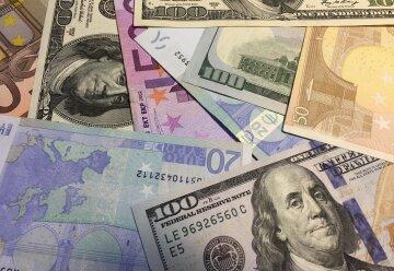 курс валют в украине, доллар, евро
