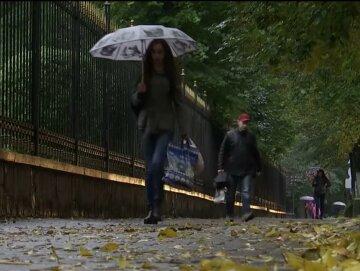 осінь, дощ