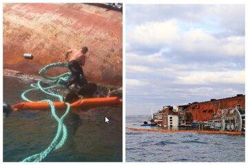 """""""Пляма на сім кілометрів"""": масштабна НП з танкером """"Делфі"""" в Одесі"""