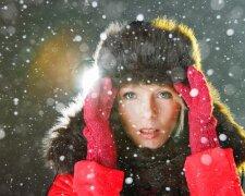 снег, зима, погода