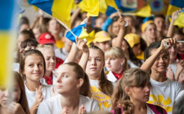 украинцы, украина, флаг