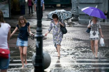 погода, лето, дождь
