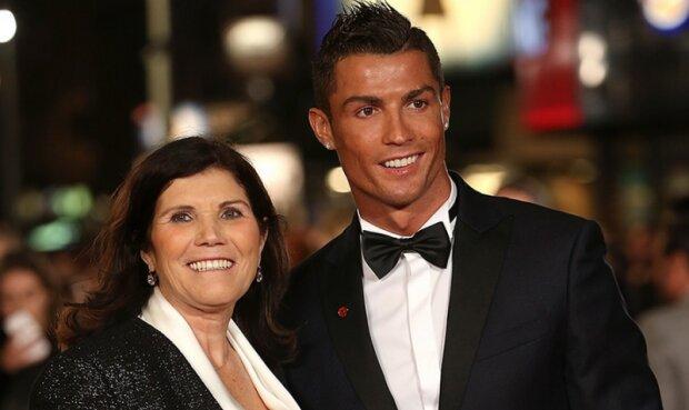 роналду и мама