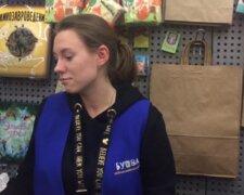 продавец, Киев, отказалась перейти на украинский язык