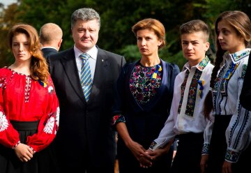 семья порошенко