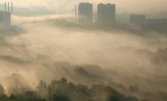 смог, туман