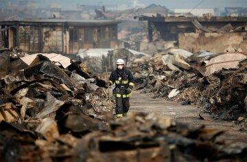 спасатель, пожар, катаклизм