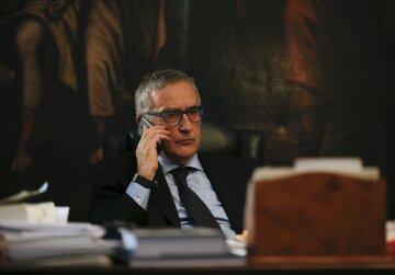 Прокурор из Национального управления Италии по борьбе с мафией Франко Роберти