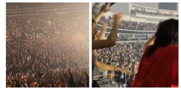 """""""Этот был взрыв"""": в Минске на концерт российской группы съехались десятки тысяч человек, кадры"""