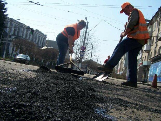 Киев дорога, ремонт
