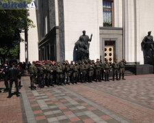 штурм Рады, Саакашвили