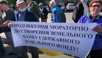 """""""Держава"""" вийшла на протест через продаж землі"""