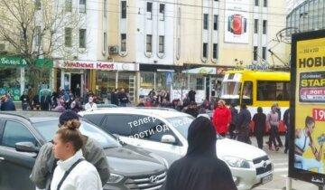 Люди взбунтовались на Привозе, перекрыв дорогу: видео протеста