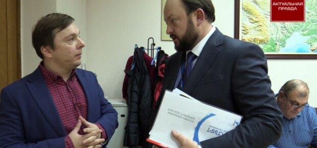 ЗМІ: Сергій Блескун - деребанщик Укрспирту під дахом міністра Милованова. Відео
