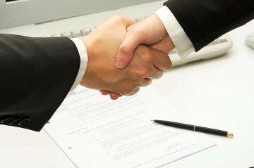 подпись, дружба, рукопожатие