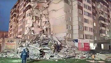 Страшный взрыв в жилом доме попал на камеру, количество жертв растет