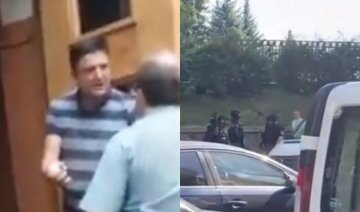 """Живым не уйду"": мужчина з гранатой ворвался в здание Кабмина, кадры"