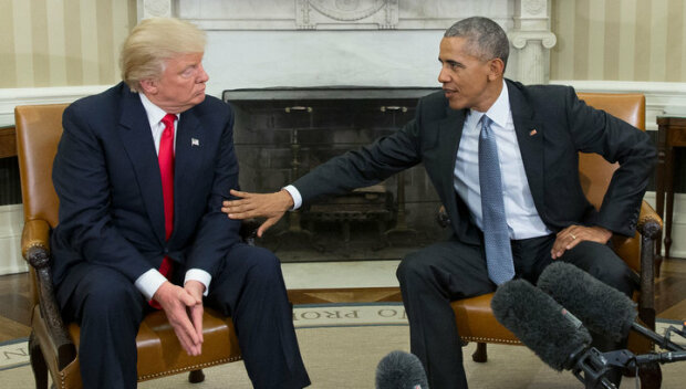 Трамп-Обама