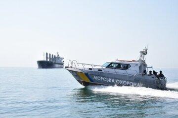Судно забруднювало море поблизу Одеси: збиток на сотні тисяч і бурі плями, фото